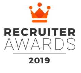 Talent123 tweede plaats Recruiter Awards 2019