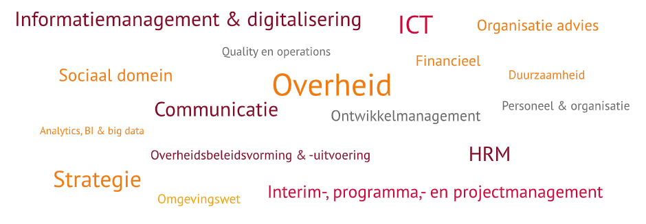 Expertise cloud interim opdrachten